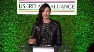 Outlander | Caitriona Balfe ~ Oscar Wilde Awards Speech