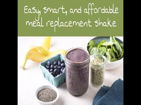 Affordable, effective, meal replacement protein shake February 4, 2018