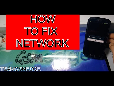 How To Fix mobile network not available On Samsung Mobile
