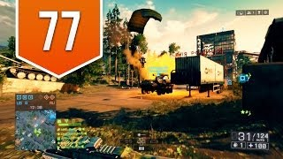 BATTLEFIELD 4 (PS4) - Road to Colonel - Live Multiplayer Gameplay #77 - IT'S RAINING SOLDIERS