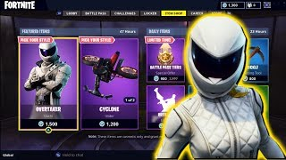NEW FORTNITE ITEM SHOP IS GLITCHED! WHITEOUT SKIN IS NOT OUT!