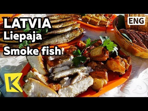 【K】Latvia Travel-Liepaja[라트비아 여행-리예파야]훈제 요리/Smoke fish/Kippered/Cooking