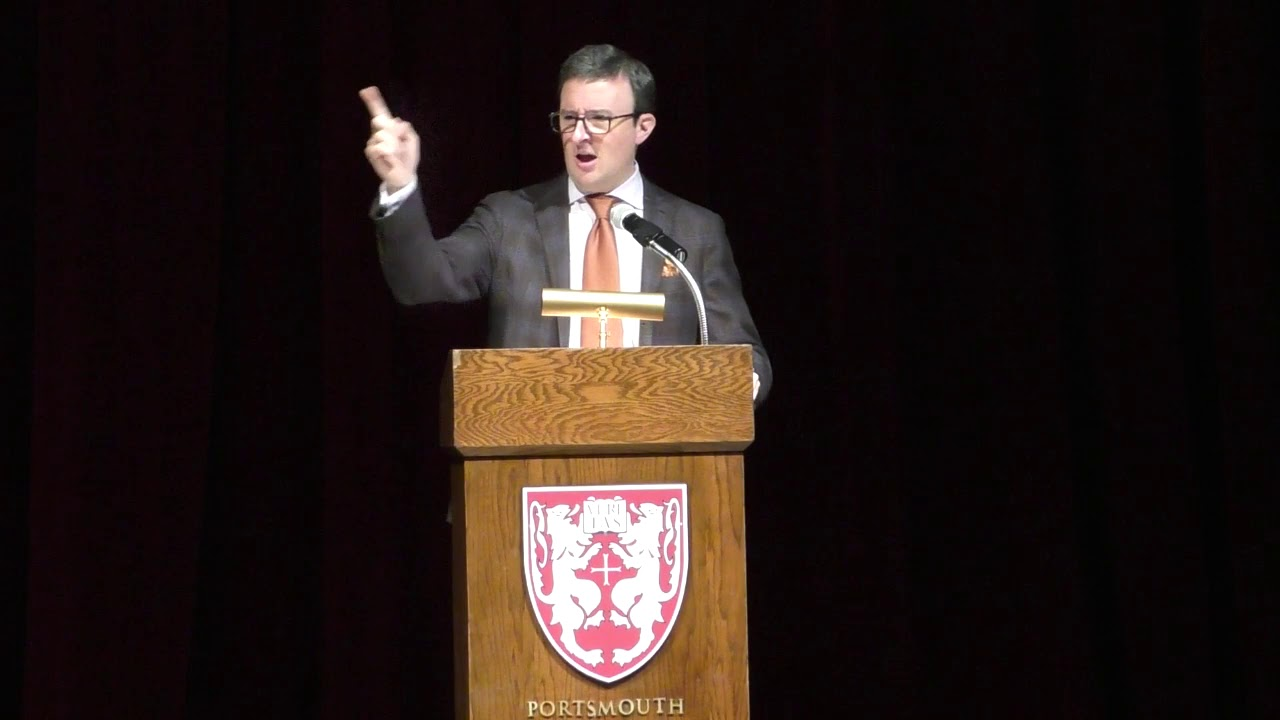 Dr. Eric Nelson Speaks at Portsmouth Abbey School
