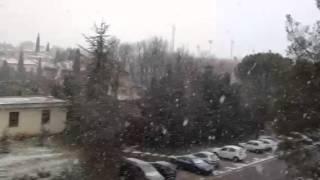 Aix en Provence neige