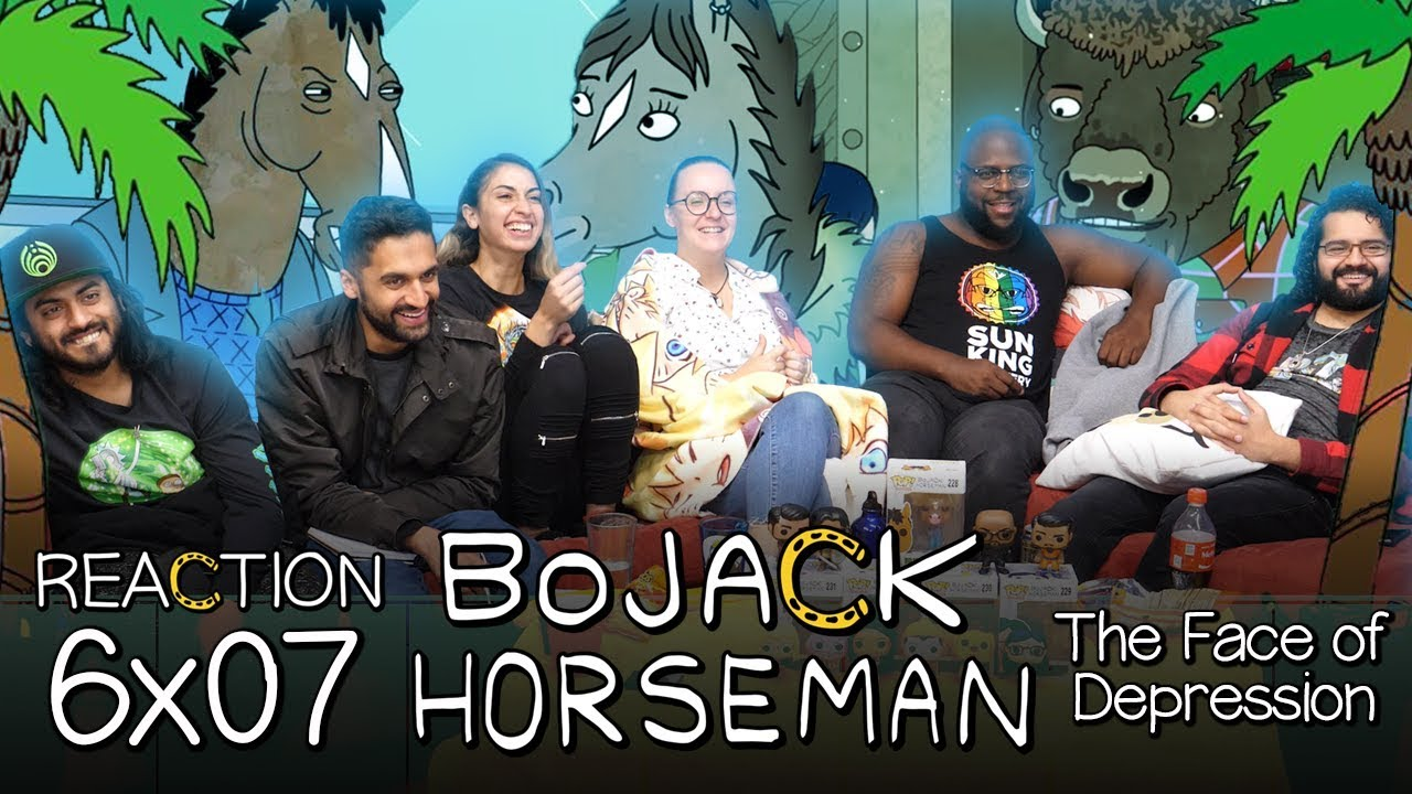 Download BoJack Horseman - 6x7 The Face of Depression - Group Reaction