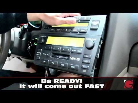 20012005 Lexus GS300 GS430    stereo    Removal Guide   GROM
