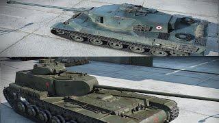 kv 4 ktts i amx m4 mle 49 nagranie gameplayu z bovington world of tanks