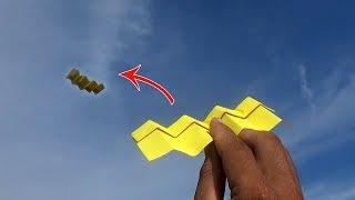 Origami Pesawat Terbang Unik
