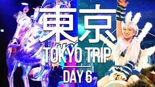 TOKYO TRIP - Day 6 - Akihabara Otaku Culture and Robot Restaurant in Shinjuku!
