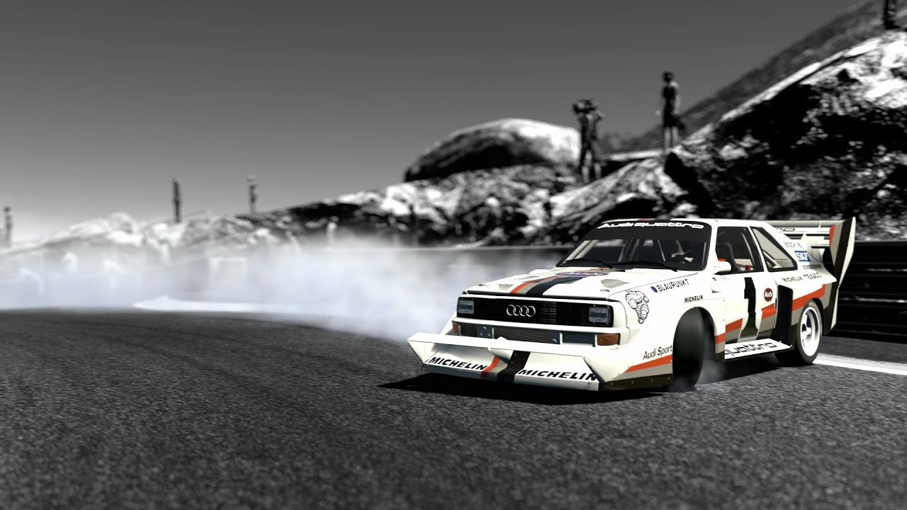 Gran Turismo 6 Audi Quttro S1 Pikes Peak 87 Youtube