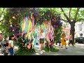 LONDON WALK | Chelsea in Bloom 'Summer of Love' Floral Displays | England