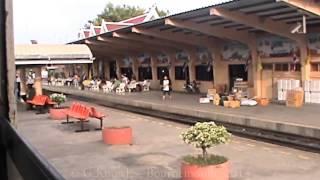 Kanchanaburi Province, River Kwai Station the trip back to Bangkok, Thailand. ( 38 )
