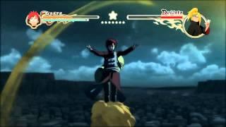 Naruto Ultimate Ninja Storm 2 Компиляция Моментов Енота 1/2