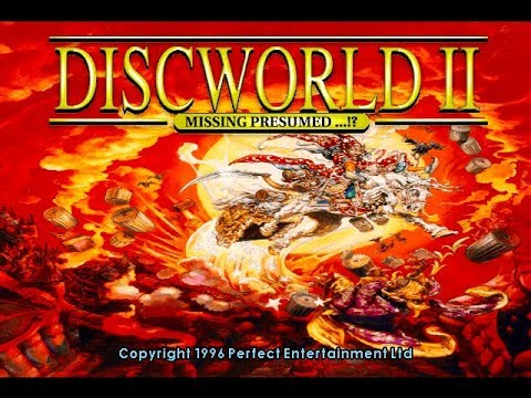 GBHBL Game Review: Discworld II: Missing Presumed...!? (PS1)