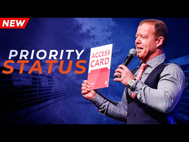 Priority Status | Pastor At Boshoff | 01 September 2019 AM