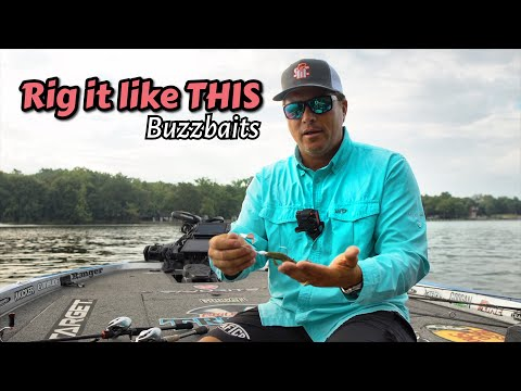 Rig Your Buzz Bait Like This - Tips And Tricks Scott Martin