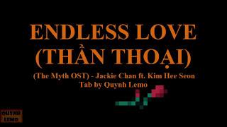 ENDLESS LOVE (THẦN THOẠI) | GUITAR SOLO (FULL TAB)