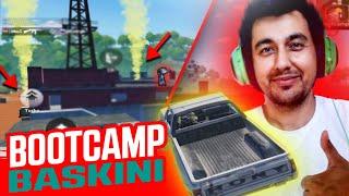BOOTCAMP FLARE GUN BASKINI / TAVA İLE DÜŞMANIN İMTİHANI !!! PUBG Mobile Sanhok Gameplay AWM Show !!!