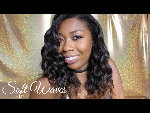 Beach Waves On Natural Hair Youtube