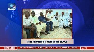 News@10: Kogi Demands Oil Producing Status 13/11/16 Pt. 2