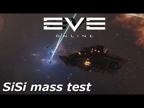 EVE Online - SiSi - Shipyard mass test II