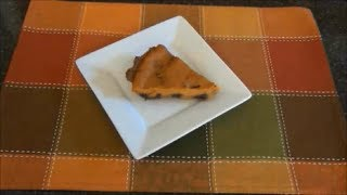 Sweet Potato And Blueberry Pie