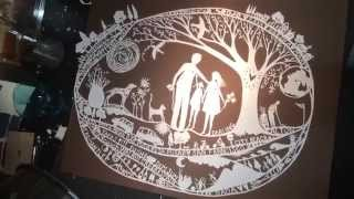 Family commission paper cut - annabella67 Anne Gee