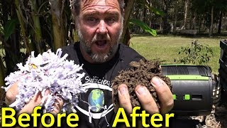 How to Turn Shredded Paper into Compost Garden Plant Food