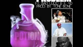 problem potion feat e40 and bad lucc