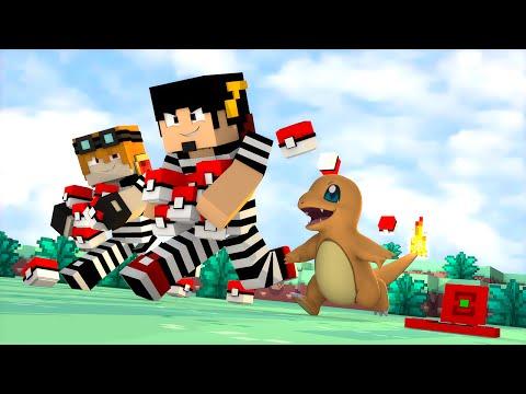 Minecraft: LIGA POKEMON #3 - LADRÃO ‹ AMENIC ›