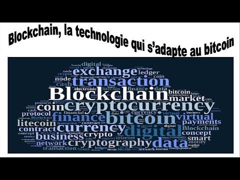 blockchain, une technologie qui s'adapte à la monnaie bitcoin