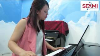 """Cover """"Nơi này có anh"""" - cô Thúy giảng viên piano"""