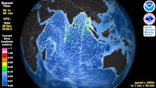 Japan Ocean Tsunami Simulation 2014