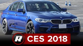 CES 2018: Take a break from the tech go drifting in a BMW M5 thumbnail