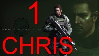 Resident Evil 6 walkthrough - part 1 HD Chris walkthrough gameplay RE6 Full Game walkthrough