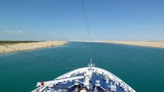 Suez-Kanal Passage - Mit dem Schiff durch die Wüste