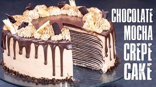 Chocolate Mocha Crepe Cake - N…