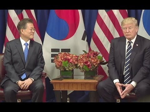 Thumbnail: Trump Meets South Korean President Moon Jae-in - Full Comments