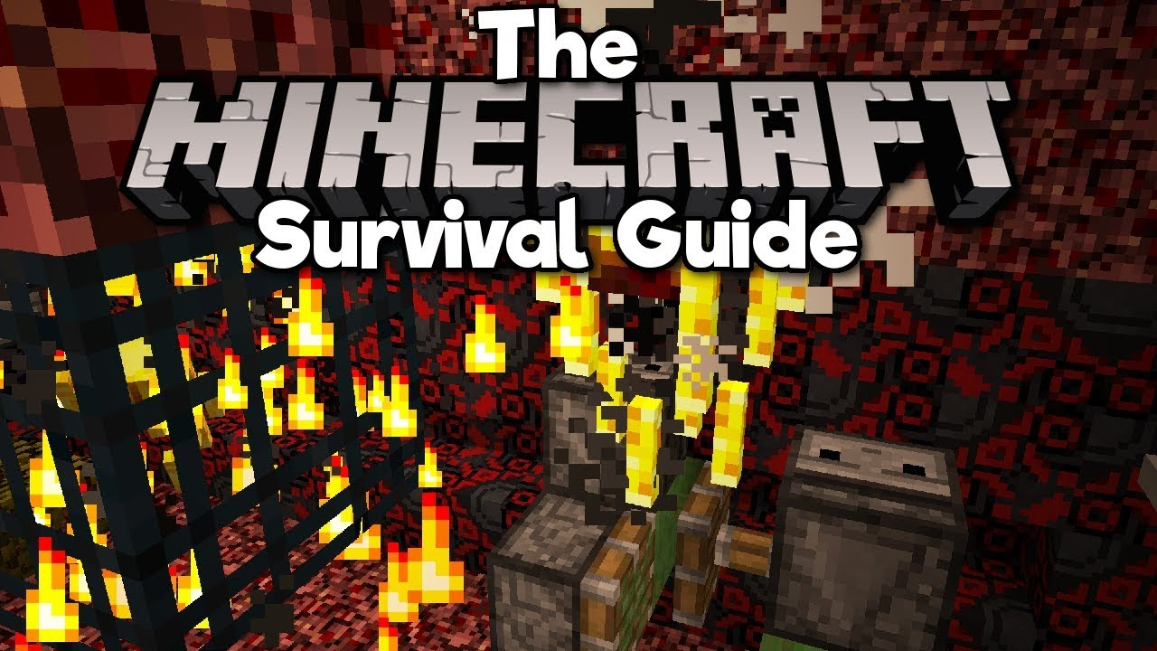 Double Blaze Spawner Farm, Pt.1 ▫ The Minecraft Survival Guide (Tutorial Lets Play) [Part 88]