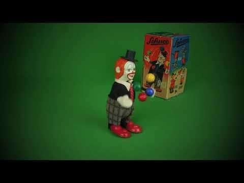 Schuco Juggling Clown