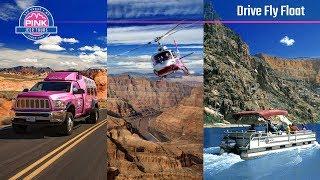Grand Canyon Drive Fly Float Tour - Las Vegas | Pink Jeep Tours