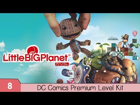 LittleBigPlanet: PS Vita: DC Comics Premium Level Pack