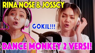 COVER GOKIL !!! RINA NOSE IMITATES SOUND OF SINGER DANCE MONKEY !!!