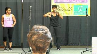 Nicole mathis performs step dances @ lifestyle expo 3/8/2014 (chesterfield town center)