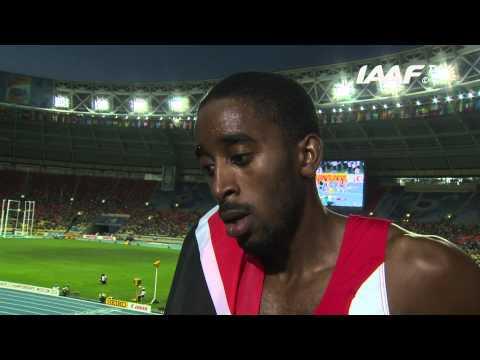 Moscow 2013 - Jehue GORDON TRI - 400m Hurdles Men - Final - Gold