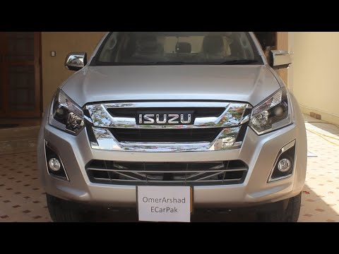 Isuzu DMax V Cross | In-Depth Review | Price, Features & Test Drive | Urdu