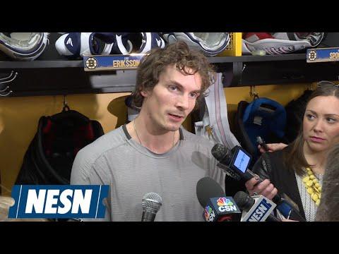 Bruins Morning Skate Report: Loui Eriksson Stays Focused Despite Trade Rumors