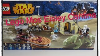 Lego Star Wars Mos Eisley Cantina 75052 Set Toy Unboxing Review Build