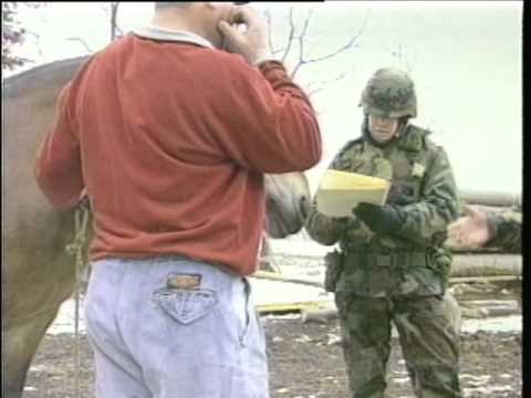 Soldier Support Video - Army Lawyers - Bosnia-Herzegovina - February 1996