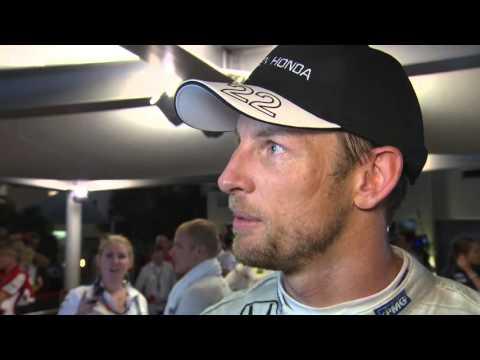2015 Abu Dhabi - Post-Race: Jenson Button